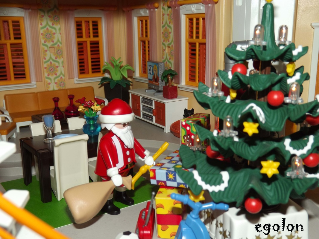 Playmobil Esszimmer 5335 Playmobil Reference 3931 Christmas Room Egolon 39s Ville