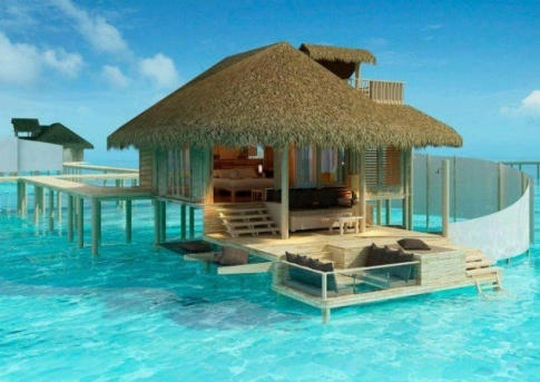 12. O mica oaza a relaxarii, in mijlocul Oceanului Pacific