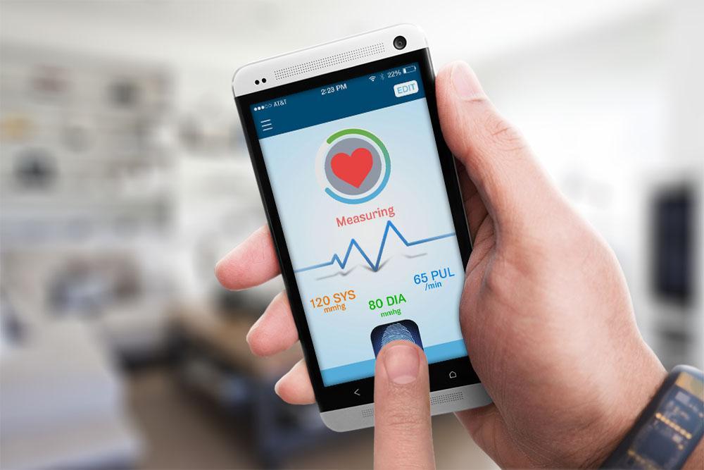Aplicații pentru măsurarea pulsului și tensiunii