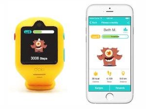 Cel mai nou smartwach pentru copii îi încurajează pe micuți să ducă un stil de viață sănătos.