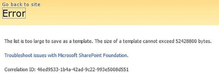 Increase list template maximum size in SharePoint - Ehi Kioya - sharepoint list template