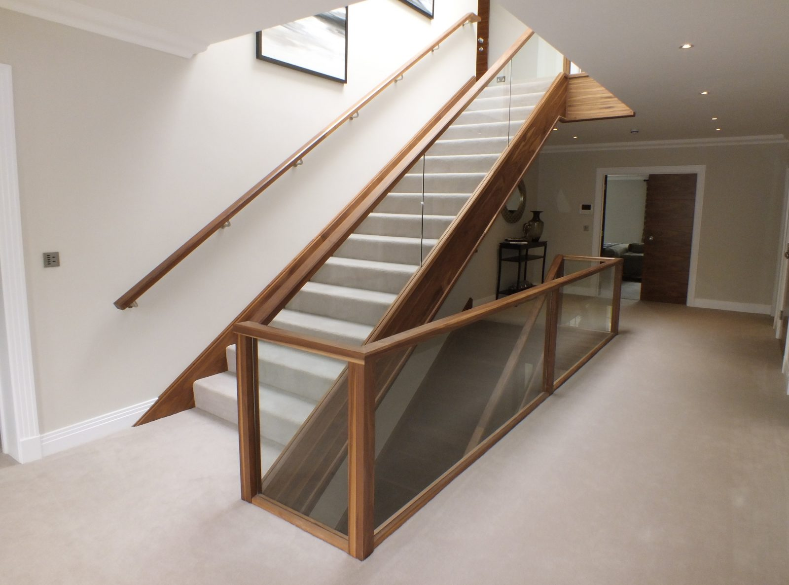 Staircases In Homes Glass Staircase Design Manufacture Edwards Hampson Ltd
