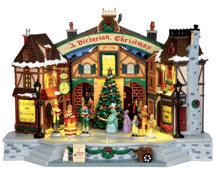 Lamps For Led Bulbs A Christmas Carol Play 45734 | Lemax Village | Ehobbytools