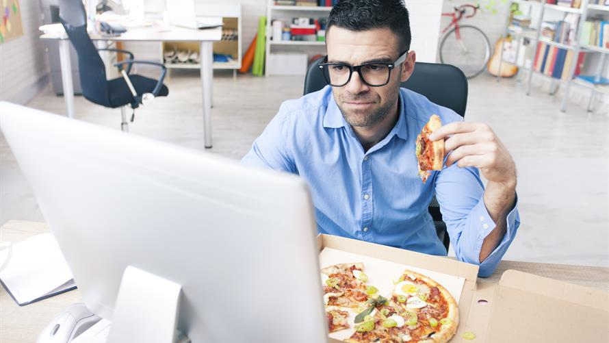 How to break the job stress-junk food cycle - MarketWatch