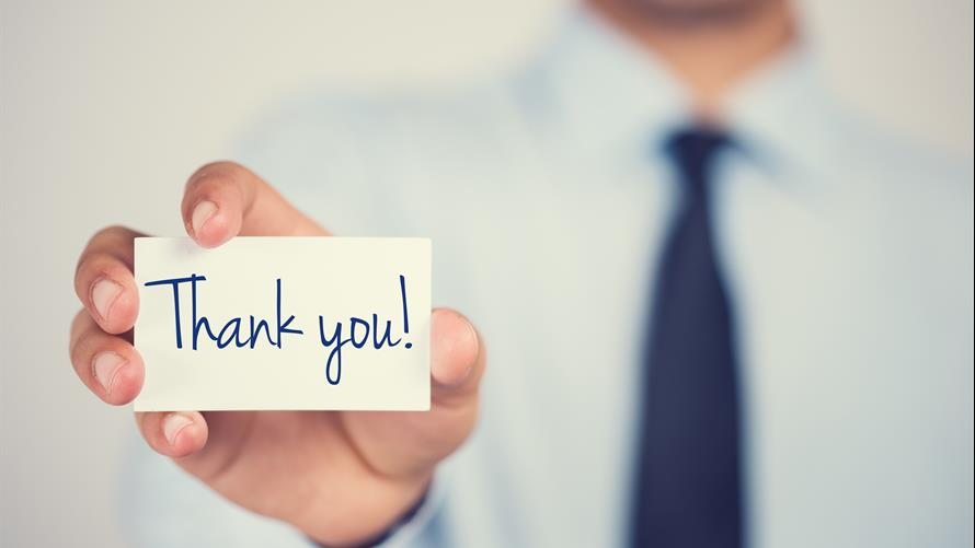 Why you should really write that thank-you note - MarketWatch