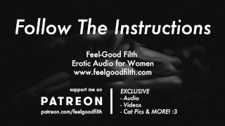 Follow My Instructions: Teasing & Owning Your Pussy (Erotic Audio)