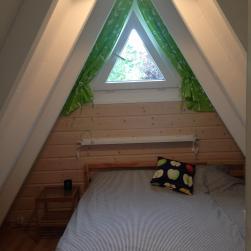 Schlafzimmer Nord mit Doppelbett