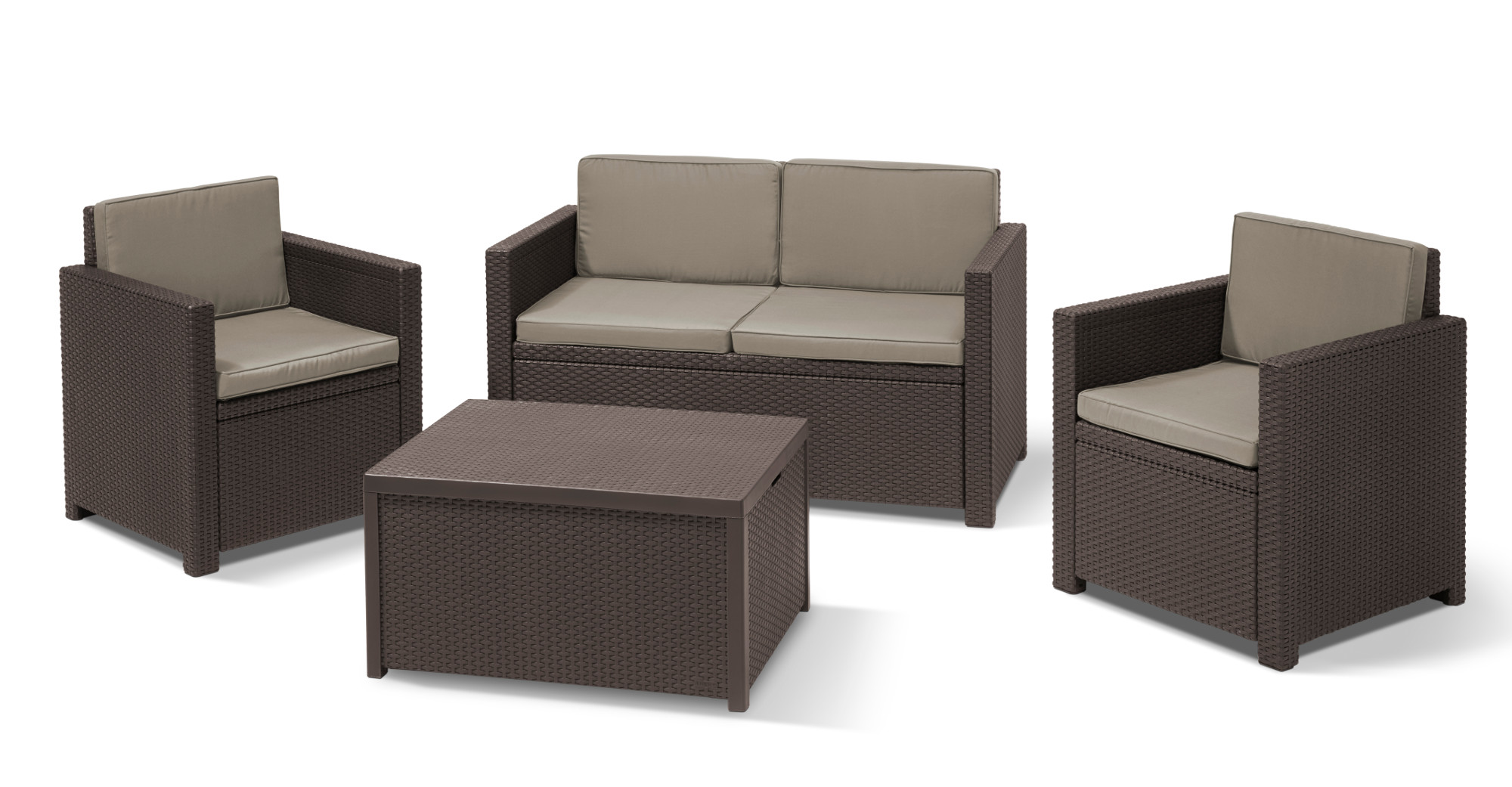 Salon De Jardin Allibert Lounge Set Allibert Lounge Set Monaco Allibert Monaco Lounge Set Ab