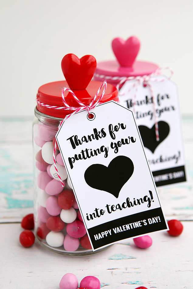Valentineu0027s Day Gifts For Teachers - Eighteen25 - valentines day gifts