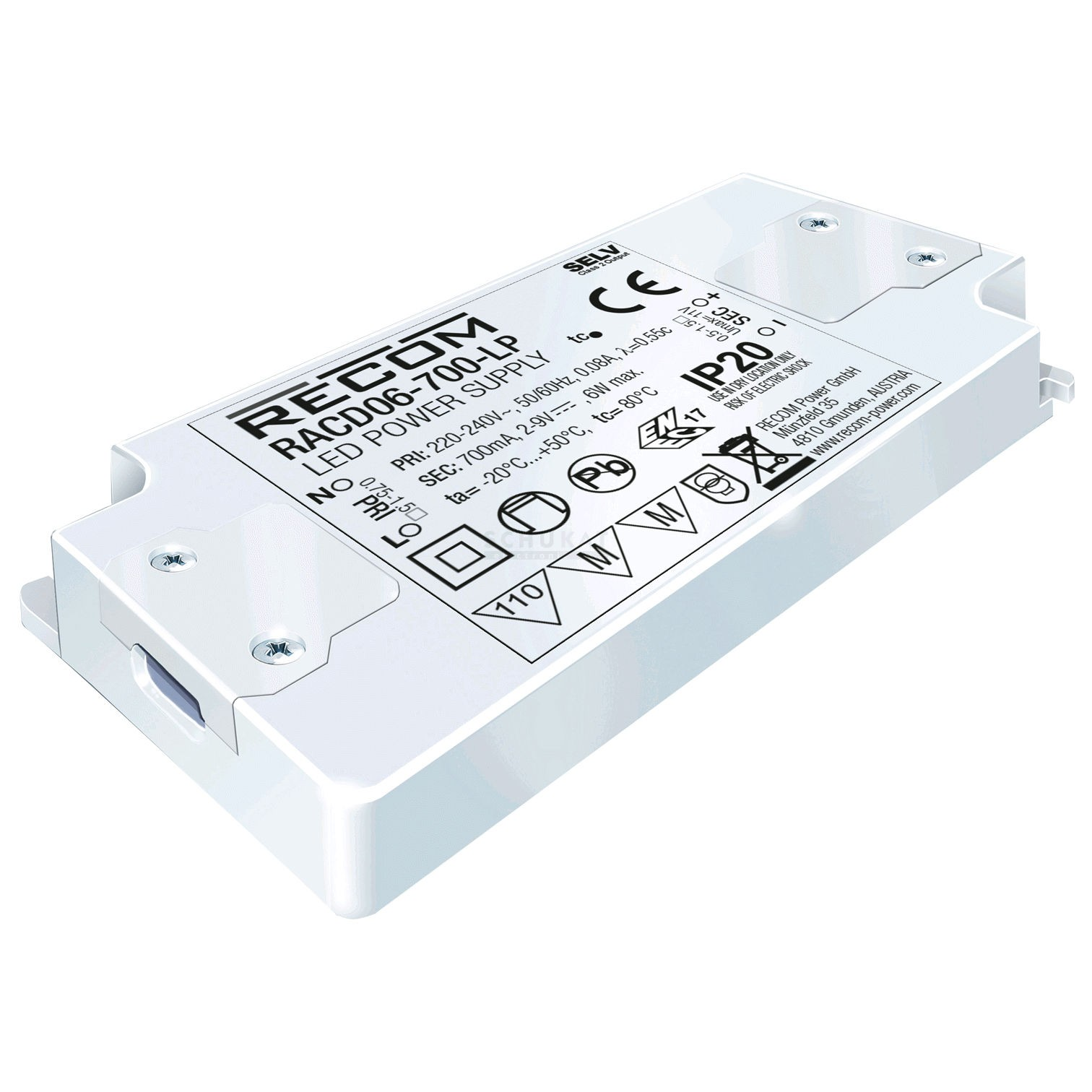 Adapter Led Verlichting Led Driver 2 12vdc 500ma 6w Ledvoedingen En Leddrivers