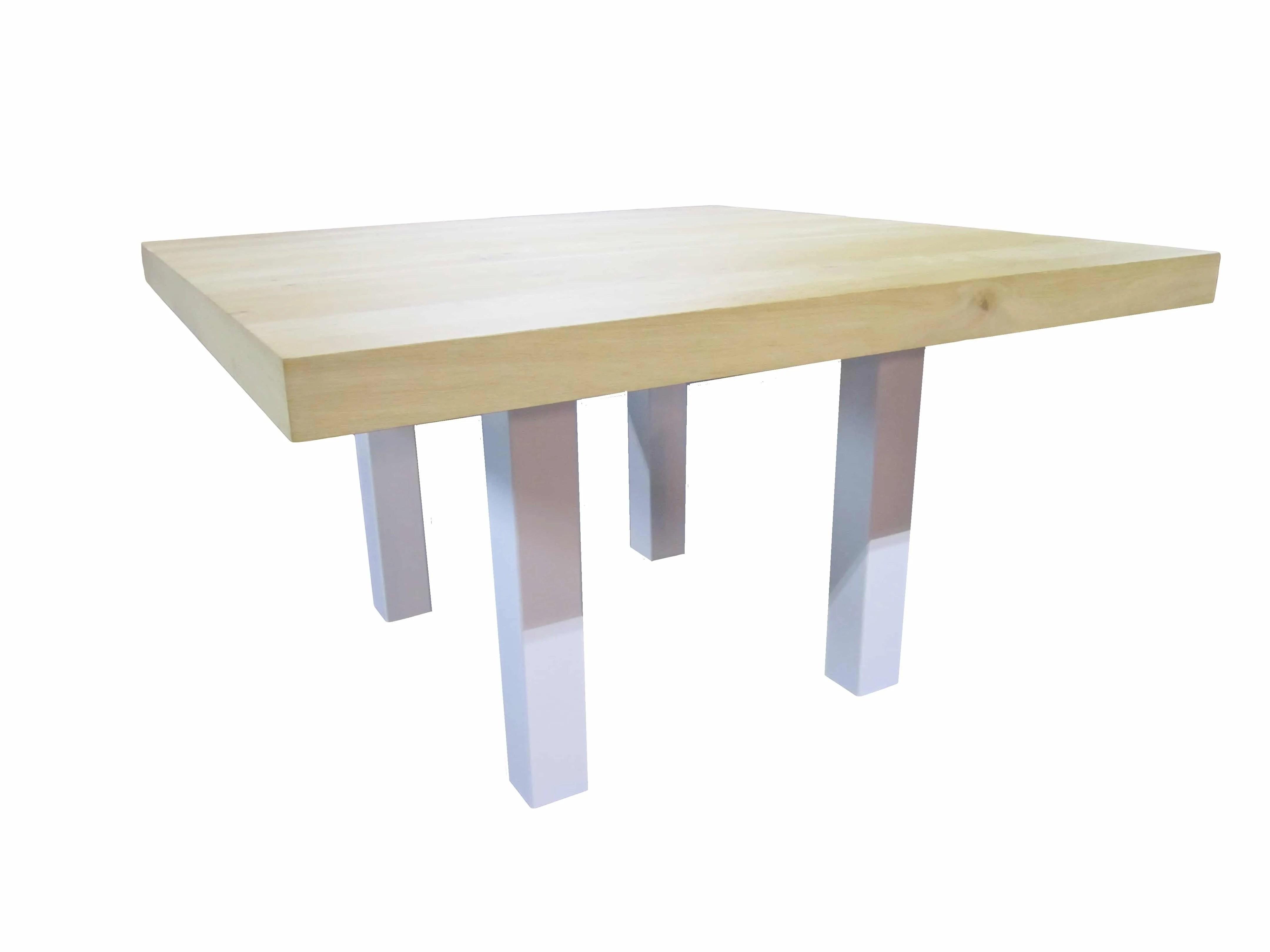 Tafel Stalen Poten : Stalen poten tafel industriële eettafel met stalen poten