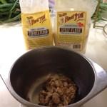 Mix in tapioca flour