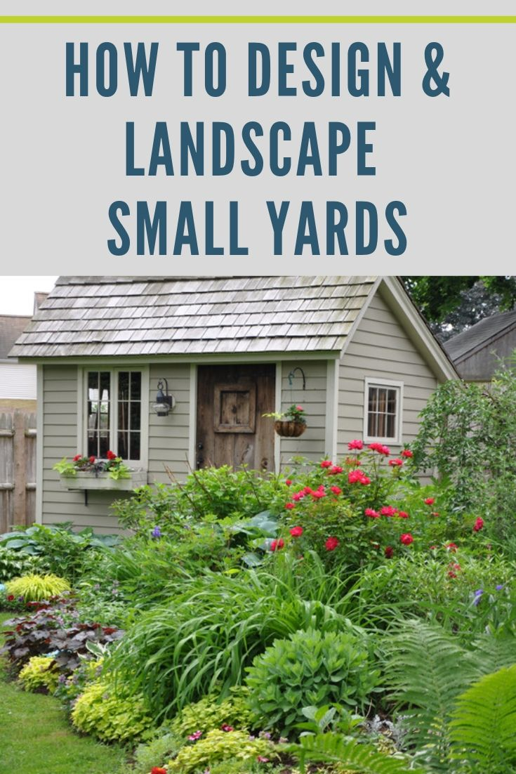 How To Design And Landscape A Small Yard Eileen Anderson Realtor Berkshire Hathaway Home Services Ne