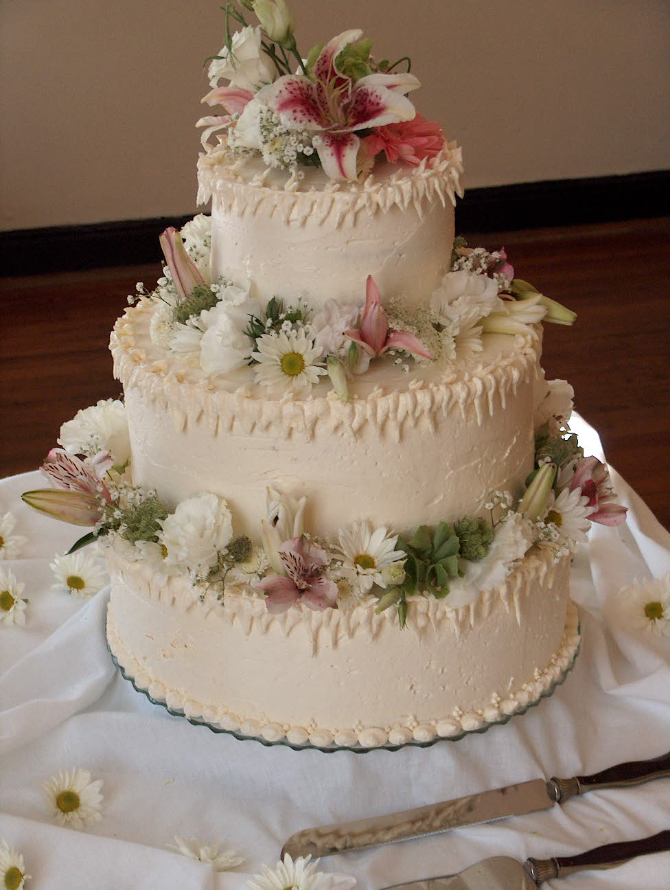 Fullsize Of Wedding Cake Frosting