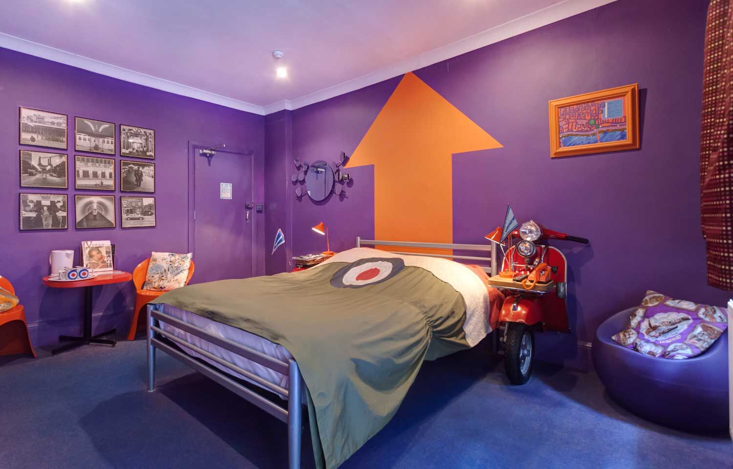 Rock And Roll Themed Room Dd Travel Feature Brightons Best Boutique Boudoir