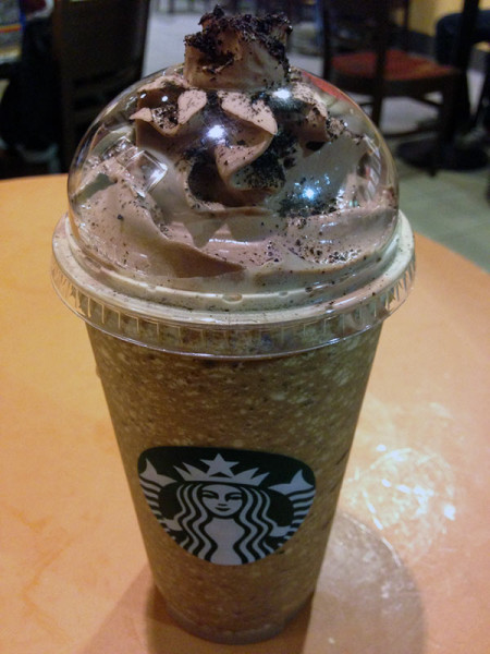 Eve Matraze Mocha Cookie Crumble Frappuccino Von Starbucks