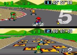 Super Mario Kart1 300x217 22 Years Of Mario kart Games   The Retrospective