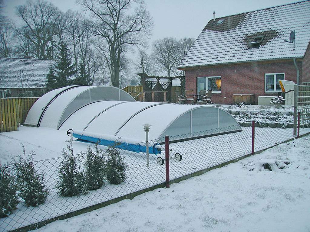 Pool Rund Winterfest Machen Swimmingpools Winterfest Machen