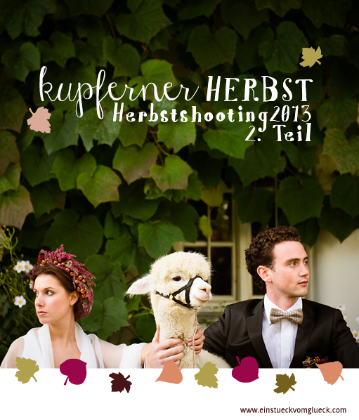 Herbsthochzeit, Hochzeitsgestaltung