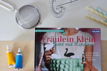 Buchrezension, Frl Klein, Backbuch mit Kindern