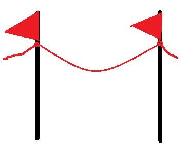 rope border graphic