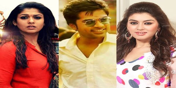 Hansika to stare angrily with Nayanthara...