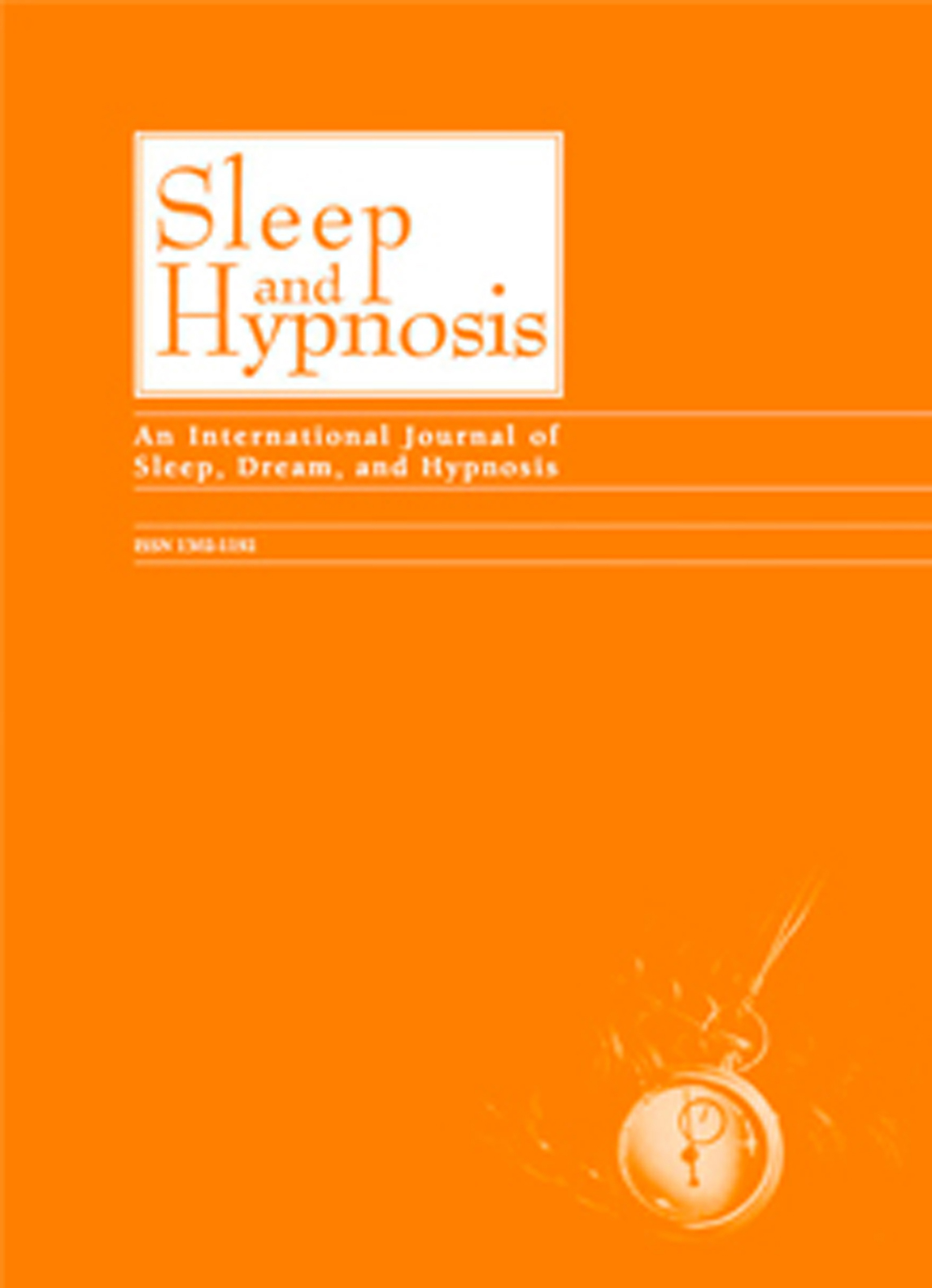 Journal Of Clinical Sleep And Hypnosis A Journal Of Clinical Neuroscience And