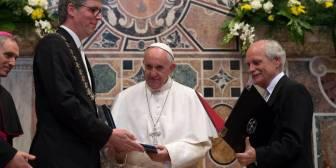 """El Papa Francisco lamenta: """"¿Qué te ha pasado, Europa?"""""""