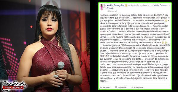 La 'Selena' Boliviana ataca al Cantando por un sueño