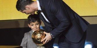 La burla del hijo de Cristiano Ronaldo hacia su padre