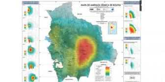 14 fallas geológicas en Bolivia son una amenaza