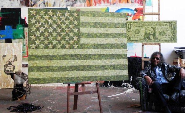 Obras con coca del artista boliviano Gastón Ugalde fueron quemadas en Holanda