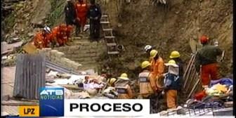 Deslizamiento en Achachicala, Alcaldía anuncia proceso contra constructora