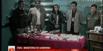 Desarticulan banda de atracadores colombianos