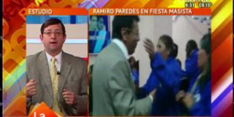 """Senador Ortiz y grabación de Paredes con masistas: """"No podemos seguir yendo a elecciones con estos vocales"""""""
