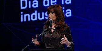 """Cristina Kirchner: """"En hombres como Scioli y Zannini está el ADN de la industria"""""""