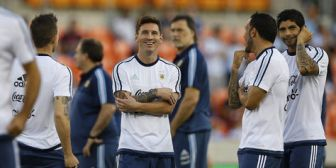 Argentina golea 7-0 a Bolivia en amistoso internacional en Houston