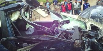 Santa Cruz. Una persona fallecida y dos heridas en accidente