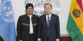 París. Evo se reunirá con Ban Ki-moon y los presidentes de Francia e India