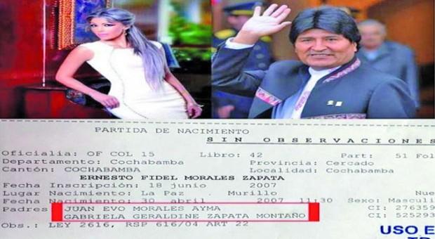 Diputada pone en duda muerte del hijo de Evo y advierte enriquecimiento repentino de la familia Zapata Montaño