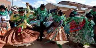 Presidente Morales participó en fiesta de ayllus en su natal Orinoca