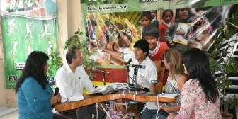 Evo toma horas de la red estatal para hablar desde Chapare, a 11 días del Referendo