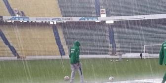 La selección boliviana no pudo terminar el microciclo por la lluvia