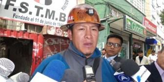 Federación de Trabajadores Mineros de Bolivia advierte con expulsar firmas chinas atropelladoras