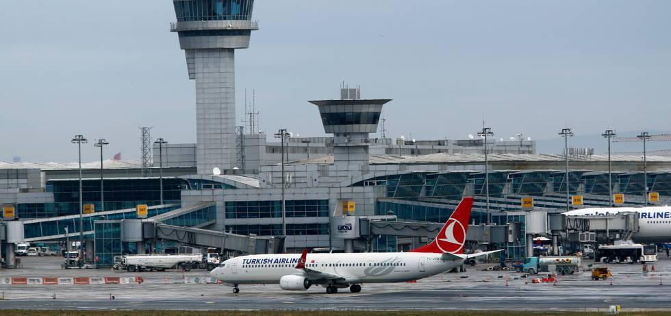 El aeródromo de Atatürk, en una imagen de febrero.