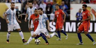Empate a 0 obliga al alargue entre Argentina y Chile