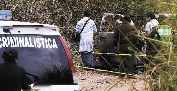 La Policía investiga el hecho ocurrido en la ruta a Camiri