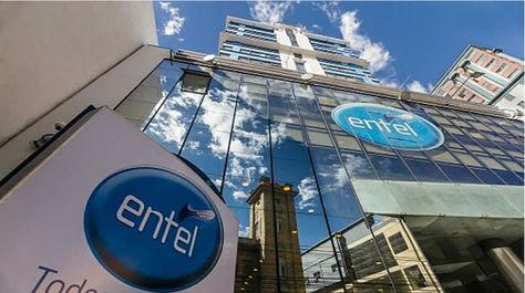 Edificio de Entel. Foto: www.eabolivia.com