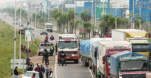 El transporte pesado nacional movilizará 6.000 camiones