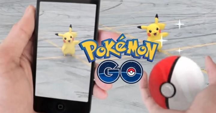 Captura de Pokémons